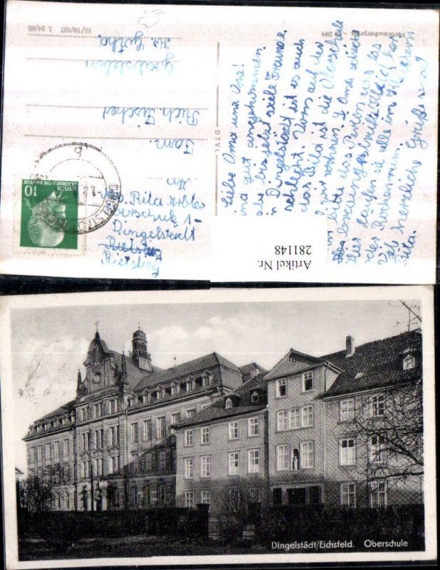 281148,Dingelstädt Eichsfeld Oberschule Schulgebäude 0