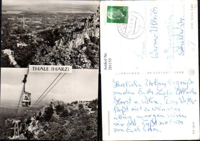 281155,Thale im Harz Totale Personenschwebebahn Seilbahn 0