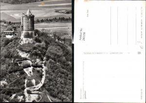 281158,Bad Kösen Burg Saaleck vom Turm der Rudelsburg