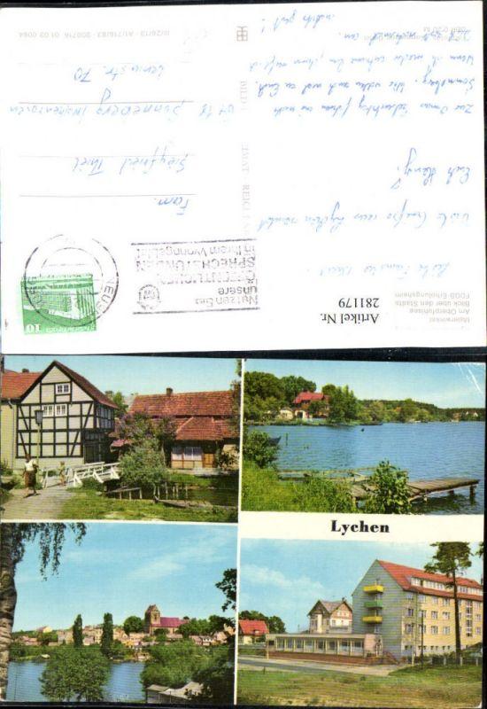 281179,Lychen Oberpfuhlsee FDGB-Erholungsheim Bertolt Brecht Mehrbildkarte 0