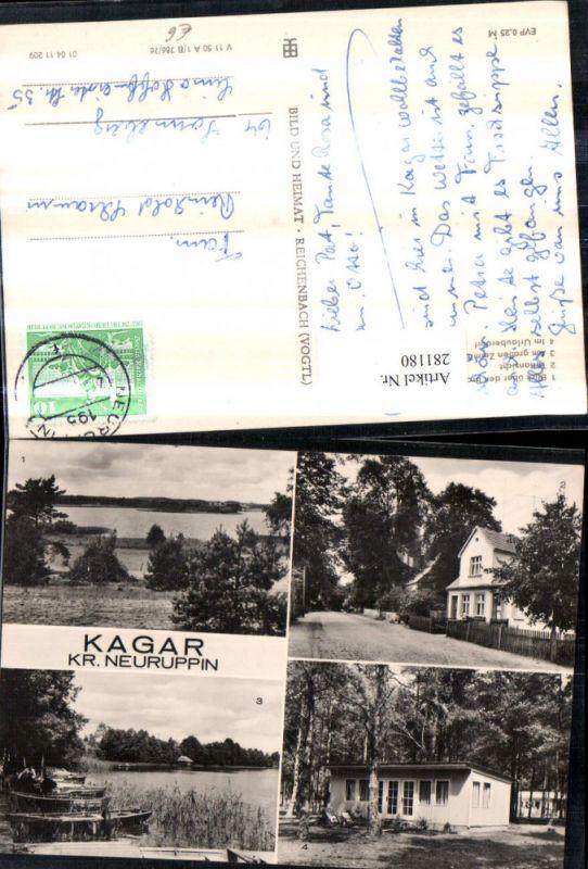 281180,Kagar Braminsee Zermittensee Urlauberdorf Boote Straßenansicht Mehrbildkarte 0