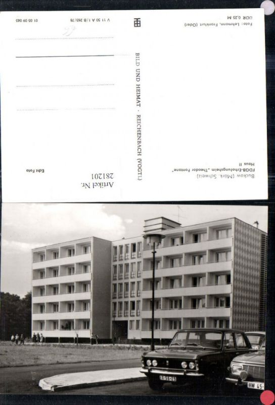281201,Buckow FDGB-Erholungsheim Theodor Fontane Haus 2  0