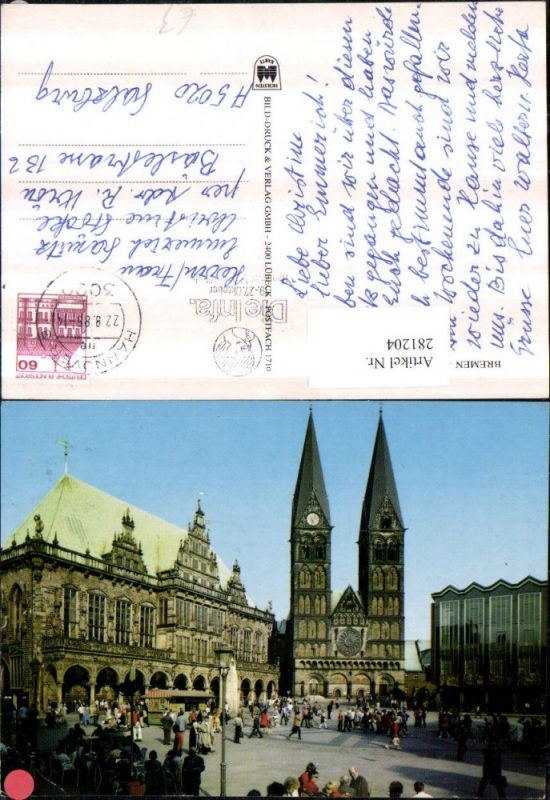 281204,Bremen Rathaus Dom und Parlament 0