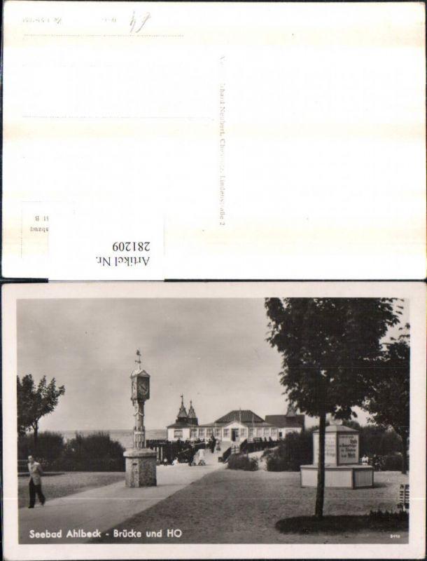 281209,Seebad Ahlbeck Brücke und HO Restaurant 0