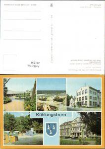 281230,Kühlungsborn Konzertgarten Bootsliegeplatz Campingplatz FDGB-Erholungsheim Mehrbildkarte