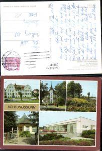 281243,Kühlungsborn FDGB-Erholungsheim Gaststätte Fischerkrug Promenade Konzertgarten Mehrbildkarte