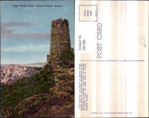 281286,Arizona Grand Canyon Hopi Watch Tower Turm