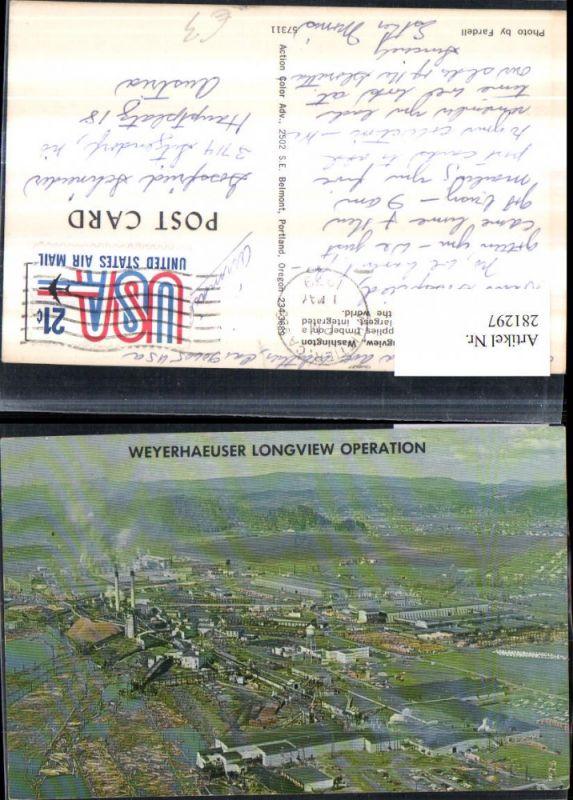 281297,Washington Weyerhaeuser Company Operation Fabrik 0