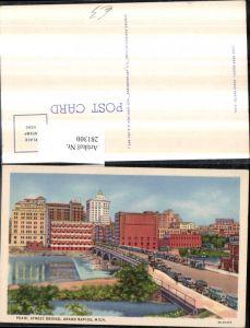 281300,Michigan Grand Rapids Pearl street bridge Brücke