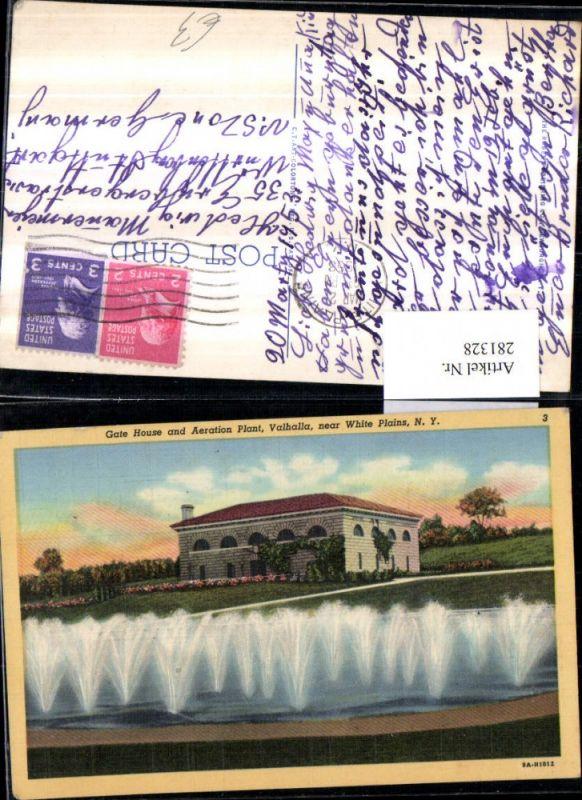 281328,New York Valhalla near White Plains Gate House and Aeration Plant Wasserspiele 0
