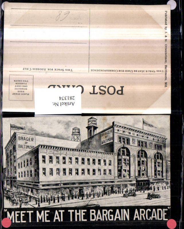 281374,Maryland Baltimore Brager of Baltimore Gebäude