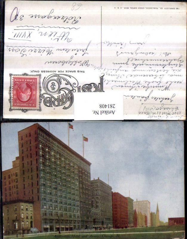 281408,Illinois Chicago Auditorium Hotel and Annex 0