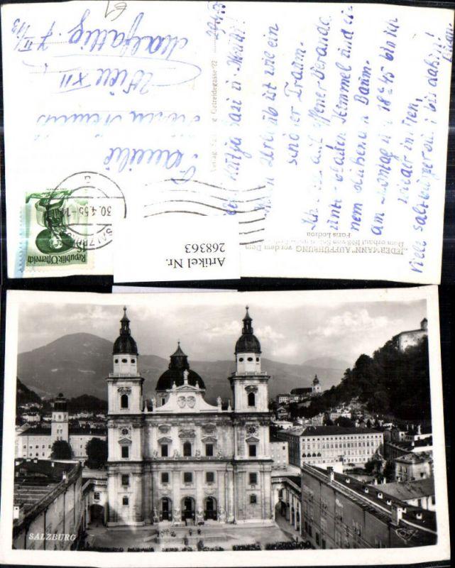 268363,Salzburg Dom Domplatz  0