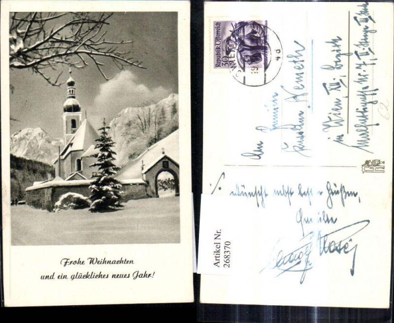 268370,Kirche Winterlandschaft Weihnachten  0