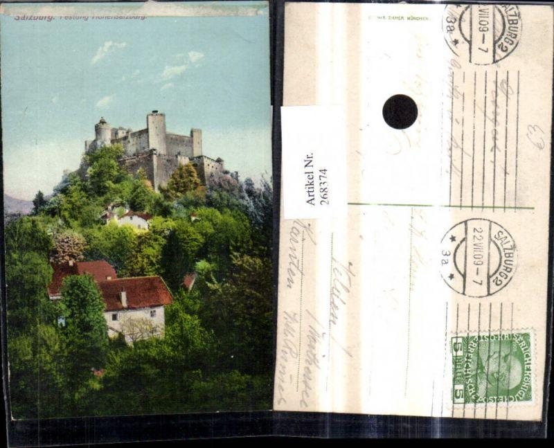 268374,Salzburg Festung Hohensalzburg  0