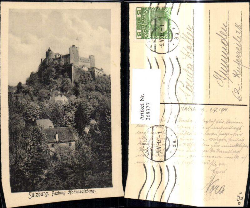 268377,Salzburg Festung Hohensalzburg   0
