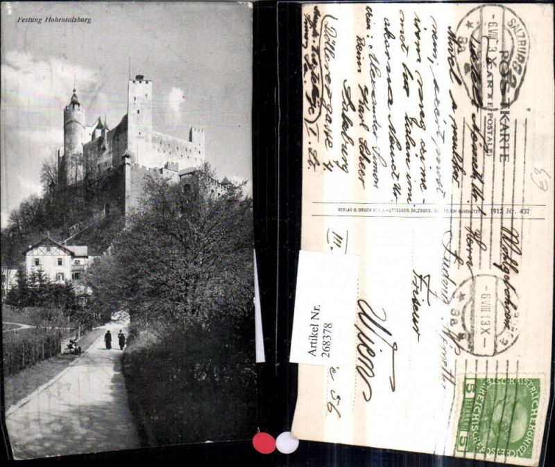 268378,Salzburg Festung Hohensalzburg  0