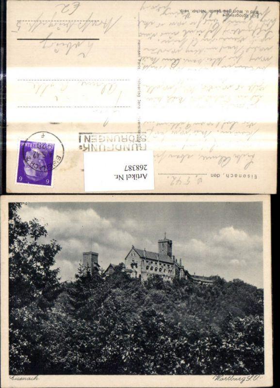 268387,Eisenach Wartburg Burg Südostseite   0