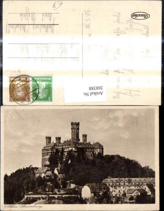 268388,Schloss Schaumburg Balduinstein nahe Limburg an der Lahn 0