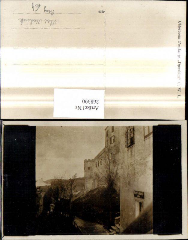 268390,Foto Ak Albert Machinek Tischler Burg Schloss  0