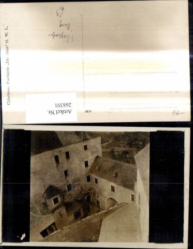 268391,Burg Innenhof Ansicht a. Luft Fliegeraufnahme  0