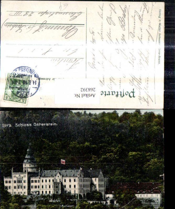 268392,Gera Schloss Osterstein  0