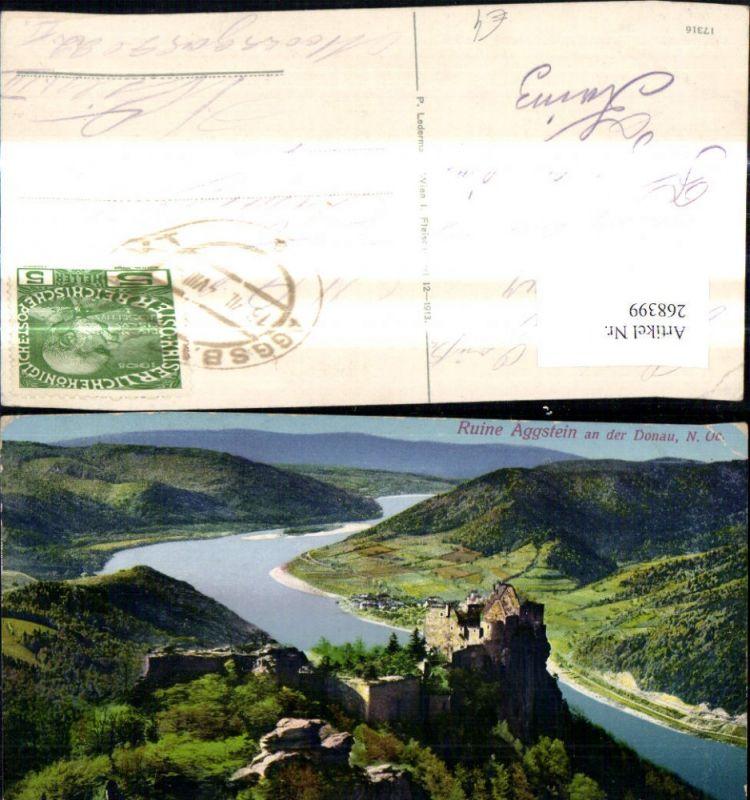 268399,Ruine Aggstein a. d. Donau Burgruine  0