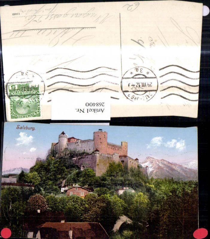 268400,Salzburg Festung Hohensalzburg  0