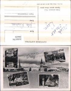 286626,Riga Teilansicht Universität Denkmal Opernhaus Mehrbildkarte
