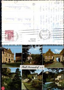 291394,Stadt Drosendorf Teilansicht Kirche Tor Wehr Straßenansicht Mehrbildkarte