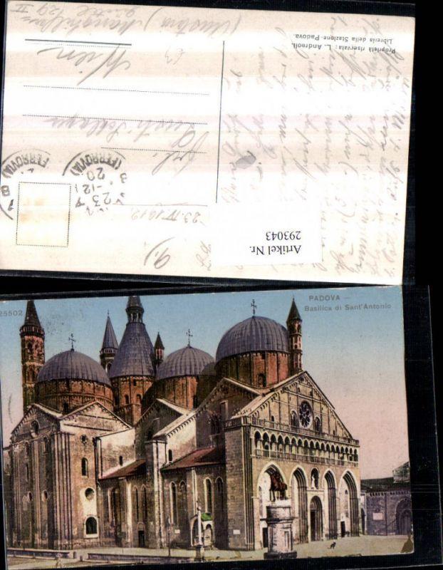 293043,Veneto Padova Basilica di Sant Antonio Kirche Denkmal