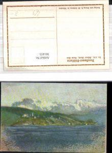301453,Künstler Ak Albert Welti Mein See Landschaft pub Kunstwart 210