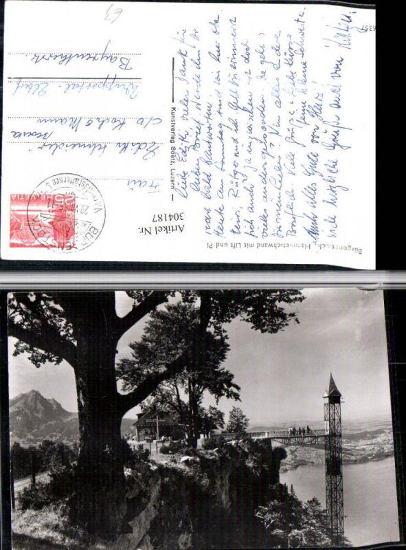 304187,Bürgenstock Hammetschwand m. Lift u. Pilatus Aufzug Kt Nidwalden
