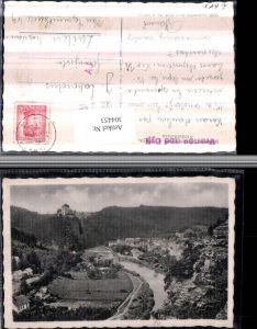 304453,Frain an d. Thaya Vranov nad Dyji Totale m. Burg