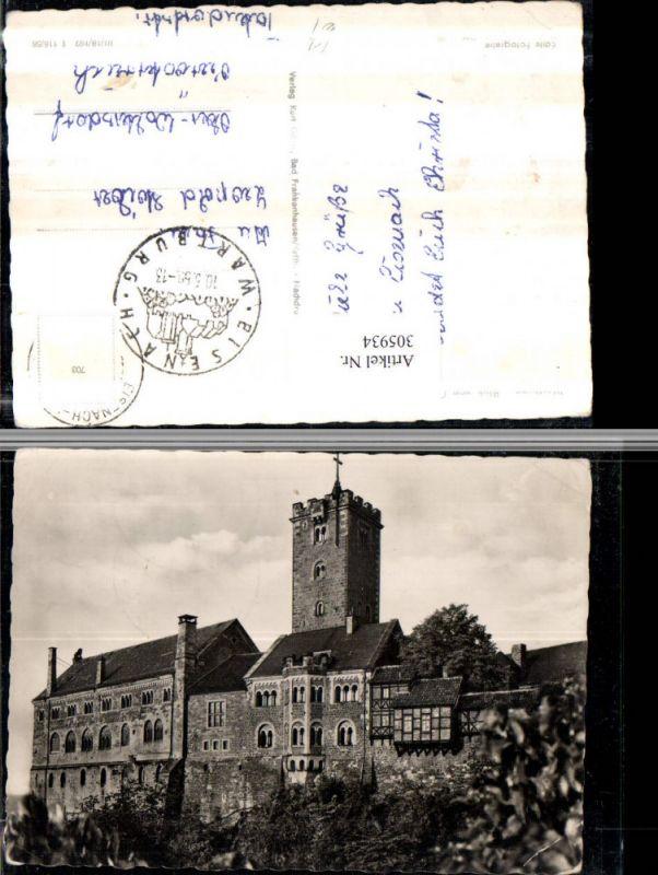 305934,Eisenach Wartburg von Osten