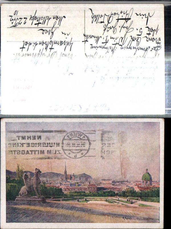 309356,Bund Deutscher Österreicher 159 Künstler R. Kargl Wien Teilansicht