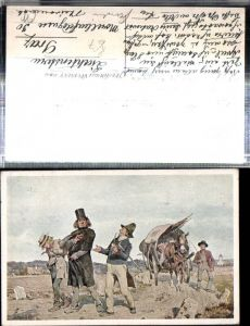 309359,Bund Deutscher Österreicher 36 Alois Greil Wandernde Komödianten Pferd