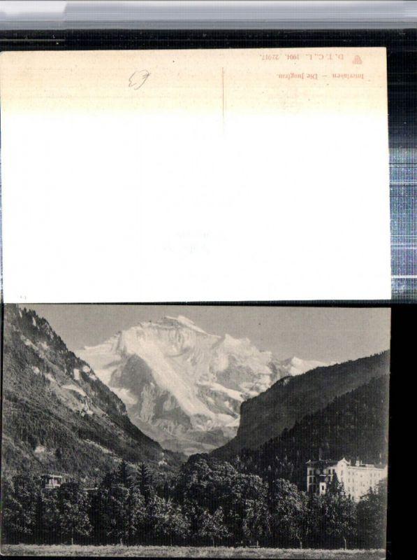 309648,Interlaken Hotel m. Jungfrau Bergkulisse Kt Bern