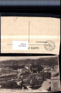 311859,Lyon Exposition Internationale 1914 Jardins de l'Horticulture Entree Avenue Leclerc