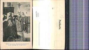 319236,Künstler Ak G. Schachinger Scene a. einem Berner Patrieierhause pub Ottmar Zieher 2150