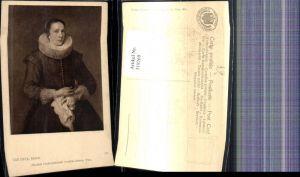 319269,Künstler Ak Van Dyck Bildnis Frau Portrait pub J. Löwy 273