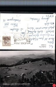 315003,Bürgeralpe Almhütten b. Aflenz geg. Eisenerzer Alpen Bergkulisse