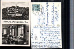 316954,Wernigerode im Harz Sennhütte Innenansicht Mehrbildkarte