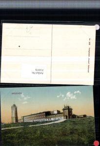 316978,Brocken b. Wernigerode Aussichtsturm