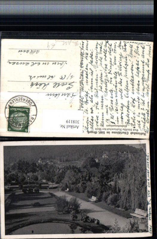 318119,Oberschlema im sächsischen Erzgebirge Hindenburganlagen