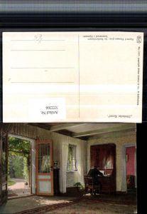 322266,Asco AK 11017 Künstler Sigvard Hansen Im Studierzimmer Tür