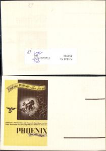 320788,Reklame Phoenix Nähmaschinen m. Zickzack