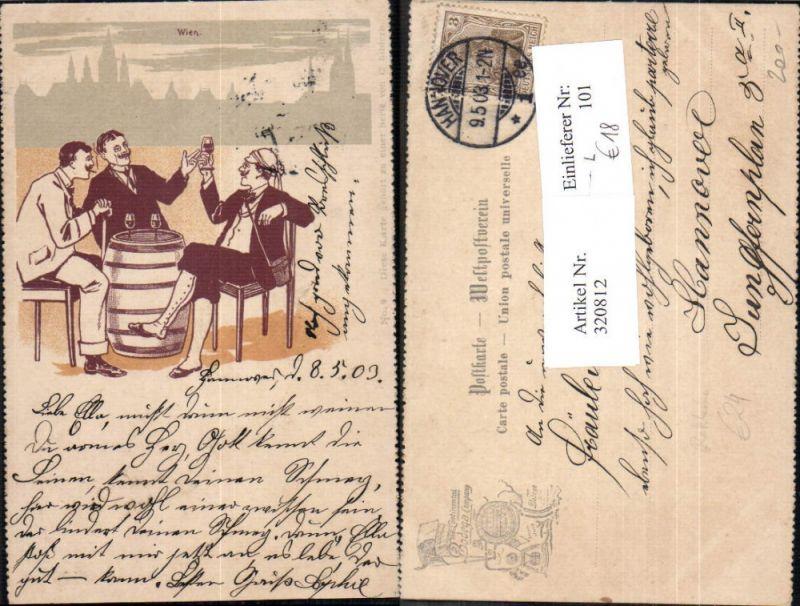 320812,Litho Reklame The Continental Bodega Company Wein Wine