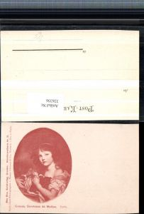 326356,Künstler AK Greuze Comtesse de Mollien Portrait pub Max Sinz Dresden 21