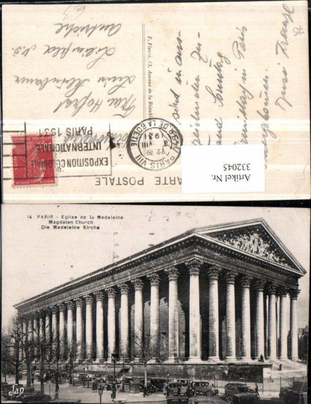 332045,Ile-de-France Paris Eglise de la Madeline Kirche